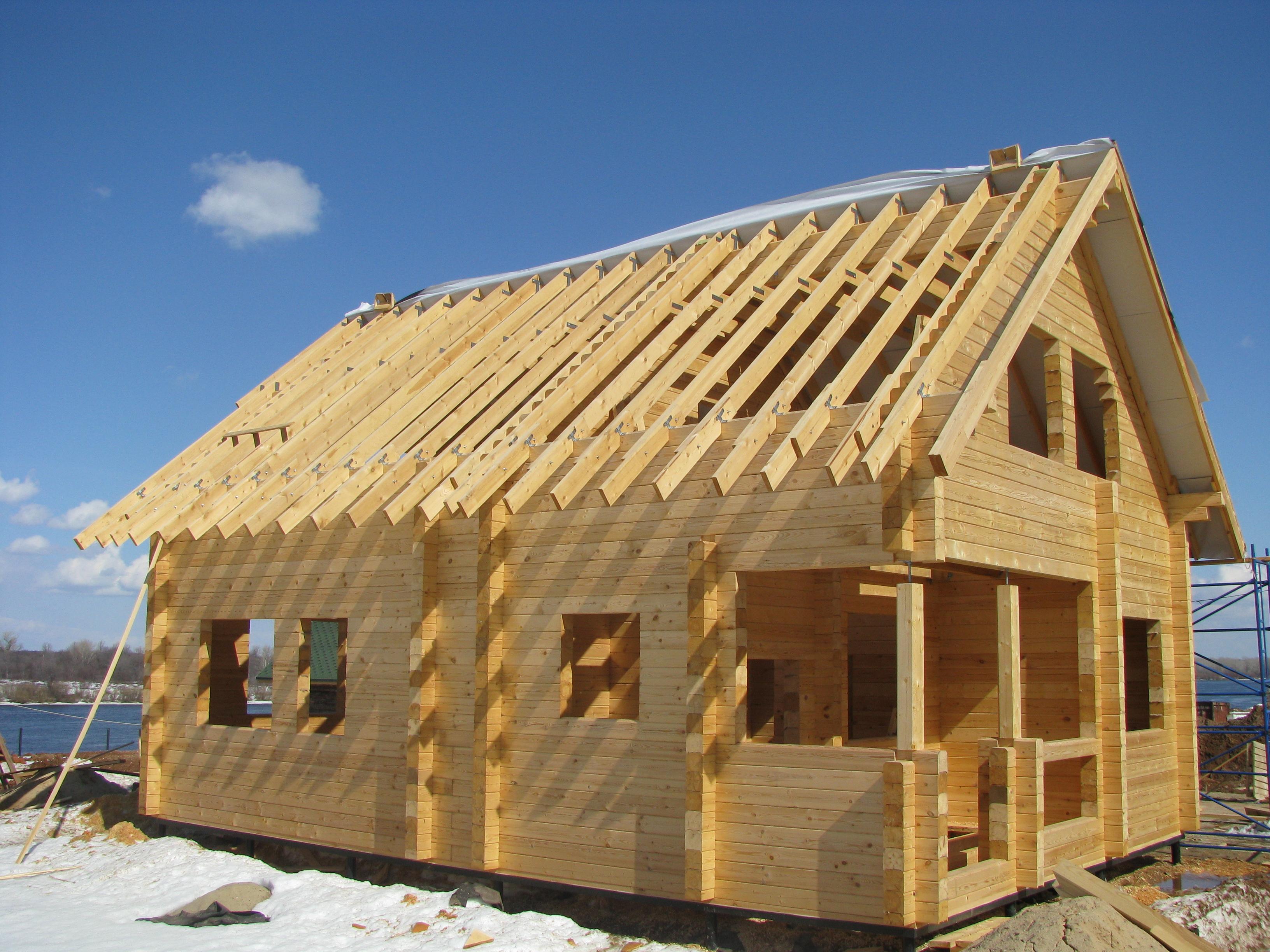 Строим дом своими руками этапы фото